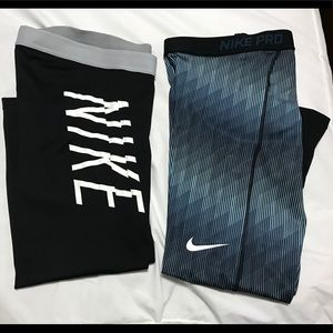 Women's Nike Pro Crop Tights